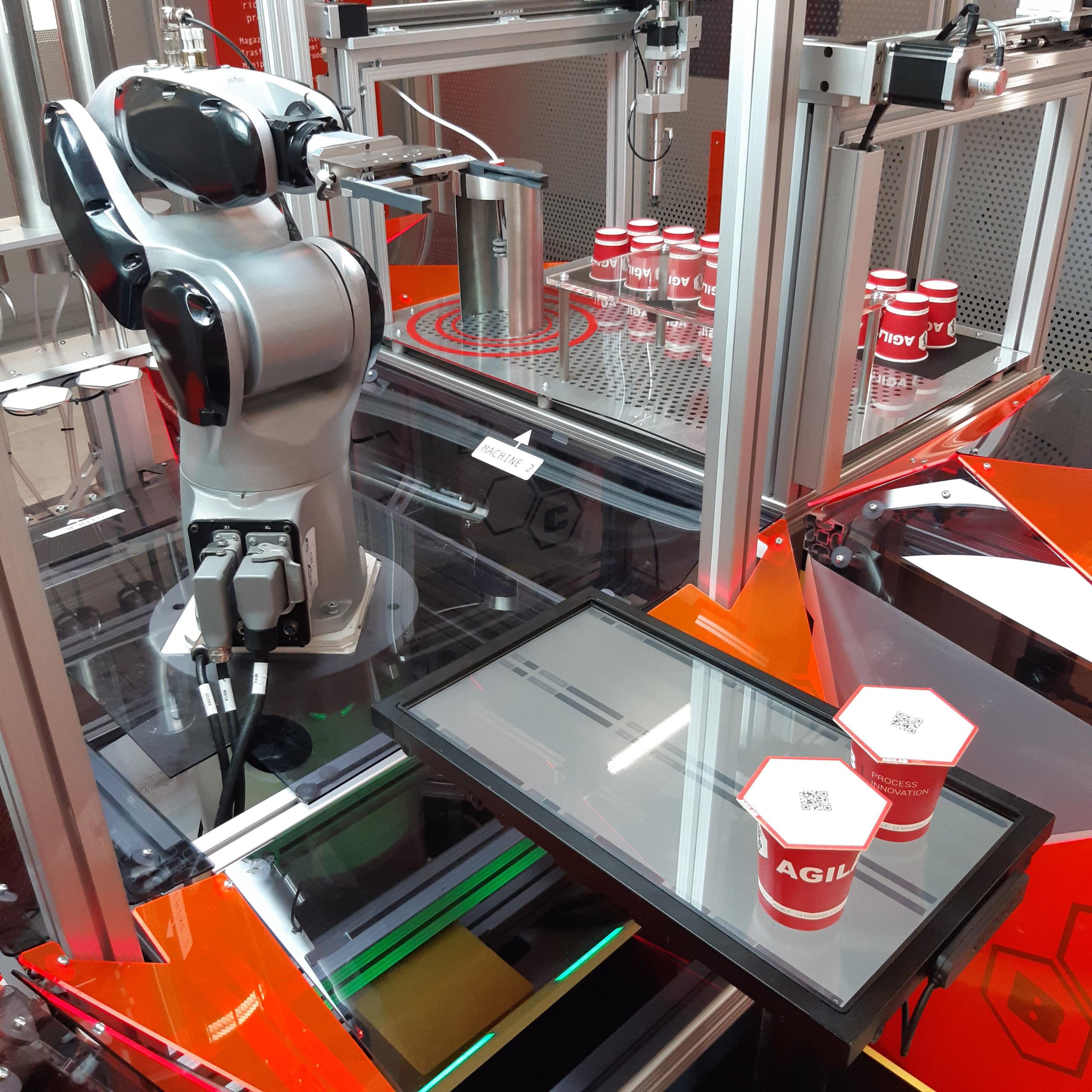 CAM-Robot - Antropomorfo Agilab robotica fissa